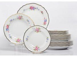 Pannónia 18 részes tányér szett 1803 Hajnalka