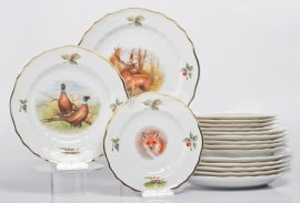 Pannónia 18 részes tányér szett 2652 Diana
