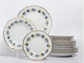 Pannónia 18 részes tányér szett 2373 Szedres