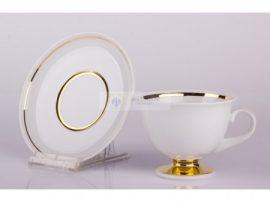 102 Tea Csésze+Alj 6201/ARANY CSÍK