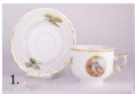 244 Tea Csésze+Alj 2652/DIANA 01
