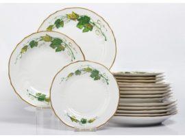 Pannónia 18 részes tányér szett 2577 Arany Tokaj