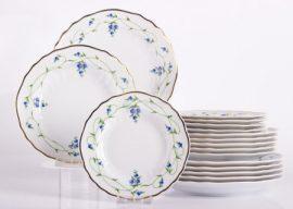 Pannónia 18 részes tányér szett 2635 Liget szépe