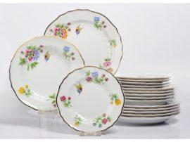 Pannónia 18 részes tányér szett 2417 Hortenzia
