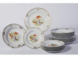 Pannónia 18 részes tányér szett 1789 Sophiane