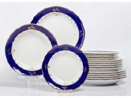 Pannónia 18 részes tányér szett 2481 Ametiszt