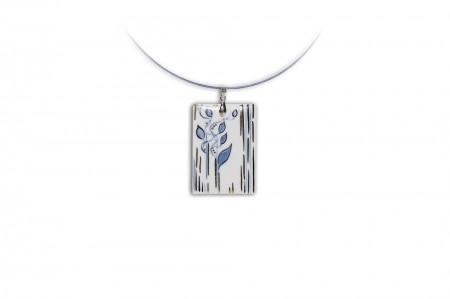 Hollóházi Porcelán nyaklánc Álomerdő 9480-2818