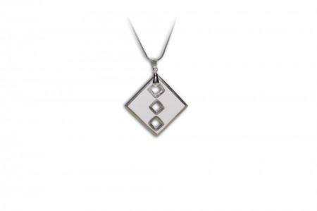 Hollóházi Porcelán nyaklánc Csillagkapú 9478-3003